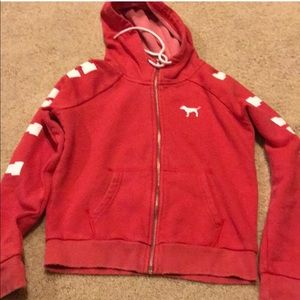 Victoria's Secret Pink Vintage Fleece Hoodie
